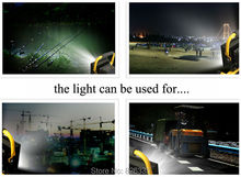 Portable IP65 3 Modes Floodlight 30W CREE XML L2 Rechargeable LED Work Emergency for Traveling Camping