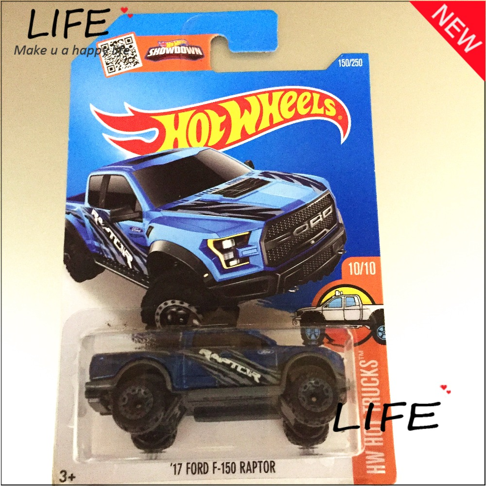 2016 Free Shipping Hot Wheels f150 raptor Car Models Metal Diecast Cars Collection Kids Toys Vehicle For Children Juguetes(China (Mainland))