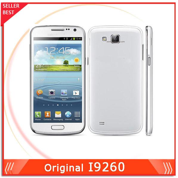 Original Samsung Galaxy Premier I9260 Smartphone 4.65'' 1GB RAM NFC WIFI Bluetooth GPS 8MP Camera Refurbished(China (Mainland))