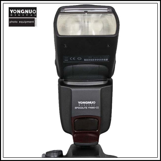 Вспышка для фотокамеры YONGNUO YN560/III Speedlite Canon 6 D, 7 D, 60 d 70 d 5 d 2 5 d d 3 700 650 D, YN560 III, III yn/560 YN-560 III chagrin d ecole