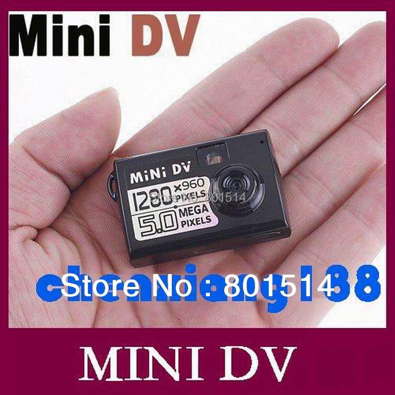 5MP HD Smallest Mini DV Digital Camera Video Recorder Camcorder Webcam DVR 1280*960 high resolution 50pcs/lot Free DHL(China (Mainland))