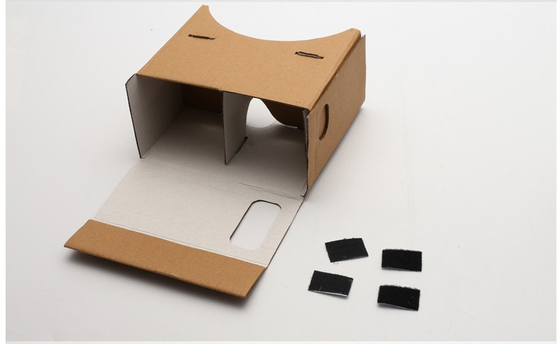 Google Cardboard 3d Glasses Virtual Reality Glasses Vr Box DIY Google Vr Cardboard 3d Glass For Iphone Huawei 6 Sony Xperia