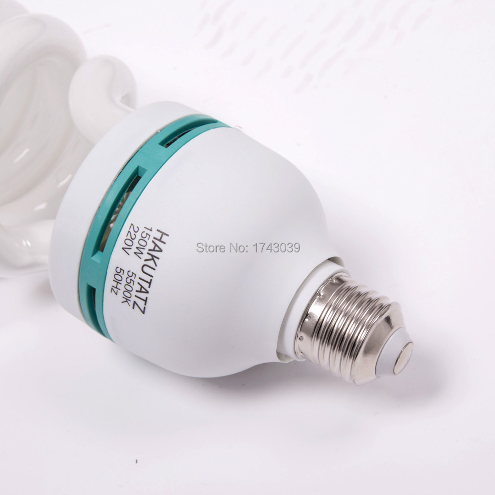 High Quality E27 5500K CFL Photography Lighting Video Bulb
