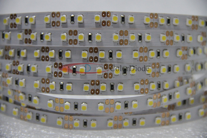CRI 90+ SMD3528 24V 600leds/roll 5000-5500K LED strip light 5meters/roll 9.6W/m for study area(China (Mainland))