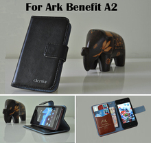 Ark Benefit A2 Case Dedicated Flip Genuine Leather Cover Phone Real Skin Card holder Seven Colors - Guangzhou Venice store