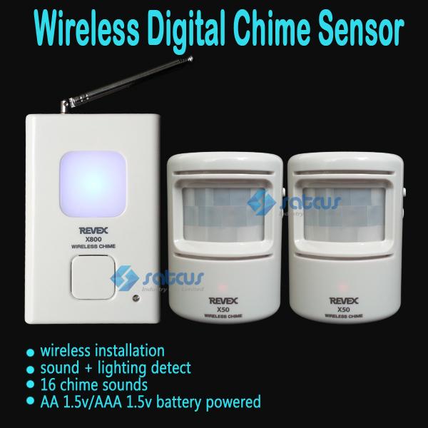 Wireless Digital Doorbell Door Chime,Driveway Patrol Security Alarm and Motion Sensor,Welcome Door Bell 16 Chime Sounds(China (Mainland))