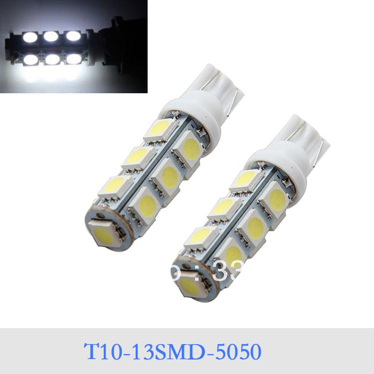 Источник света для авто None 2 13SMD T10 5050 DC12V упаковочные пакеты none 10 13 10 13cm