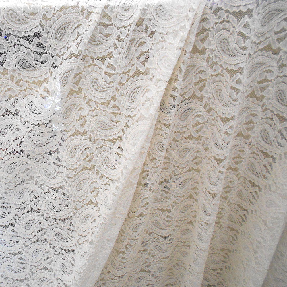 Free shipping wedding dress cashew flowers bubble lace for Wedding dress lace fabric