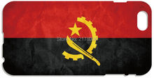 Painting Angola Flag Mobile Cell Phone Case For iphone 4 4S 5 5S SE 5C 6 6S Plus For iPod Touch 4 5 6 Plastic Hard Cover