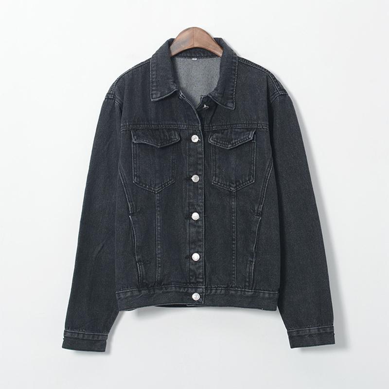 Denim Jacket Women Fashion Vintage Aa Style Long Sleeve