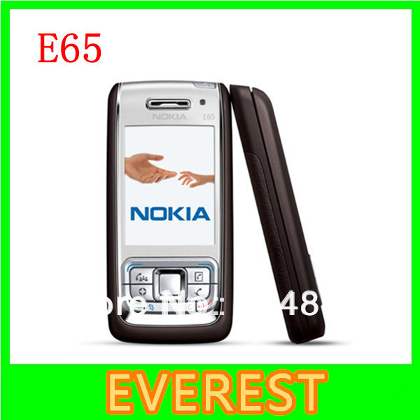 Nokia E65 Mobile Phone Unlocked Original Nokia E65 Gsm Cell Phone Quadband 3G WIFI Bluetooth good quality(China (Mainland))