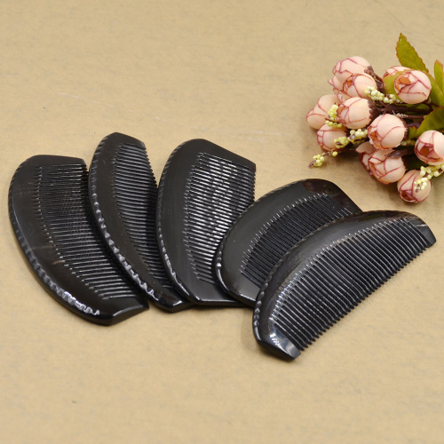 Head Massage Relaxation Artificial Ox Horn Handle Comb Hair Brush Health Care Natural Massage Comb  Random Delivery  Head Massage Relaxation Artificial Ox Horn Handle Comb Hair Brush Health Care Natural Massage Comb  Random Delivery