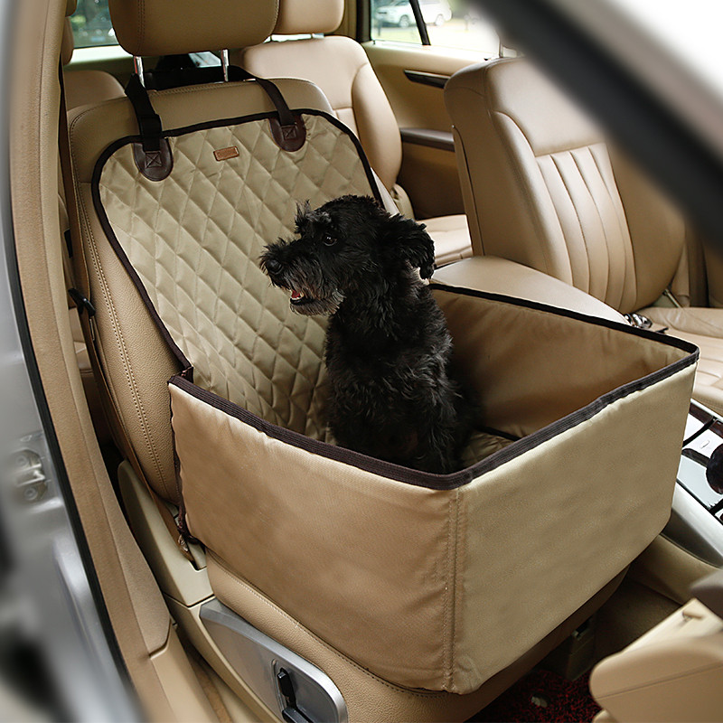 Dog Car Harness >> 2016 waterproof dog bag pet car carrier dog carry storage bag pet booster seat cover for travel ...