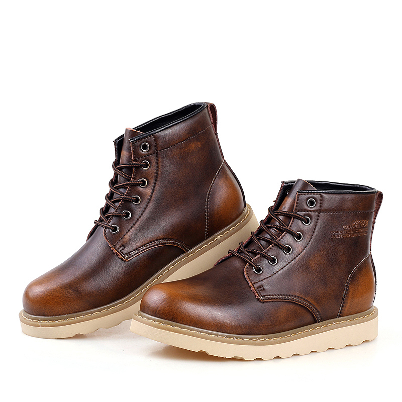 Waterproof Leather Boots Men - Yu Boots