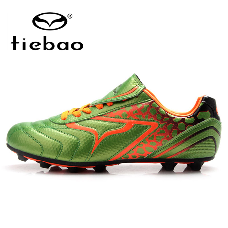 TIEBAO Professional FG & HG & AG Sole Training Soccer Shoes Outdoor Sport Football Boots Children Kids Soccer Cleats Sneakers(China (Mainland))