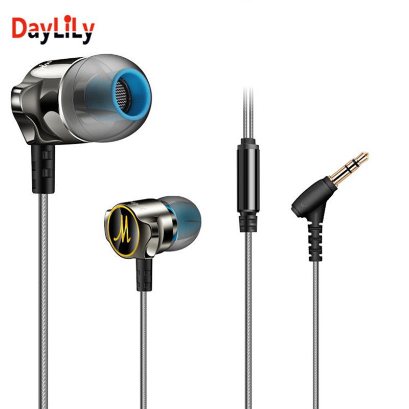 Daylily-headphones bass weight phone fone de ouvido MP3 earphone phone sport motion headset audifonos for computer music phone(China (Mainland))