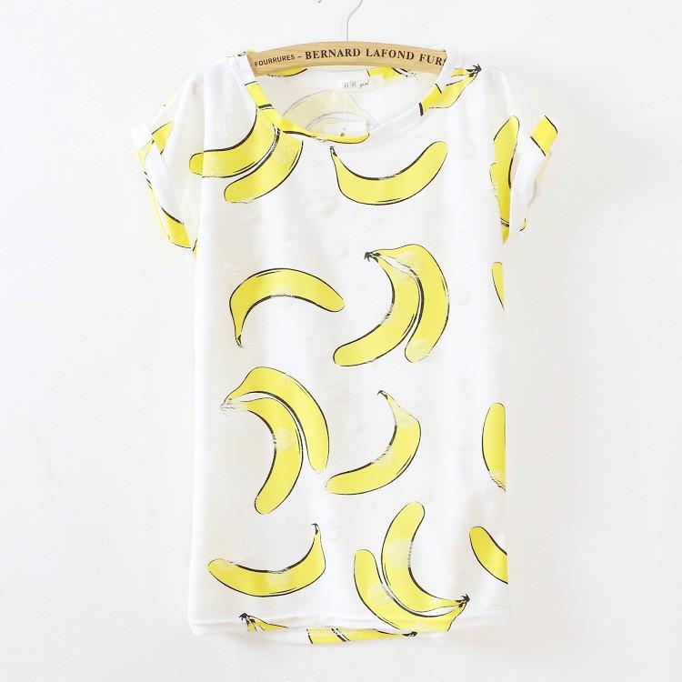 New 2015 Summer thin Style fashion loose girl women s short sleeve o neck T shirt