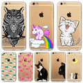 For Apple iPhone 6 6s Plus 4 4S 5 5S SE 5C 6Plus Case Soft TPU