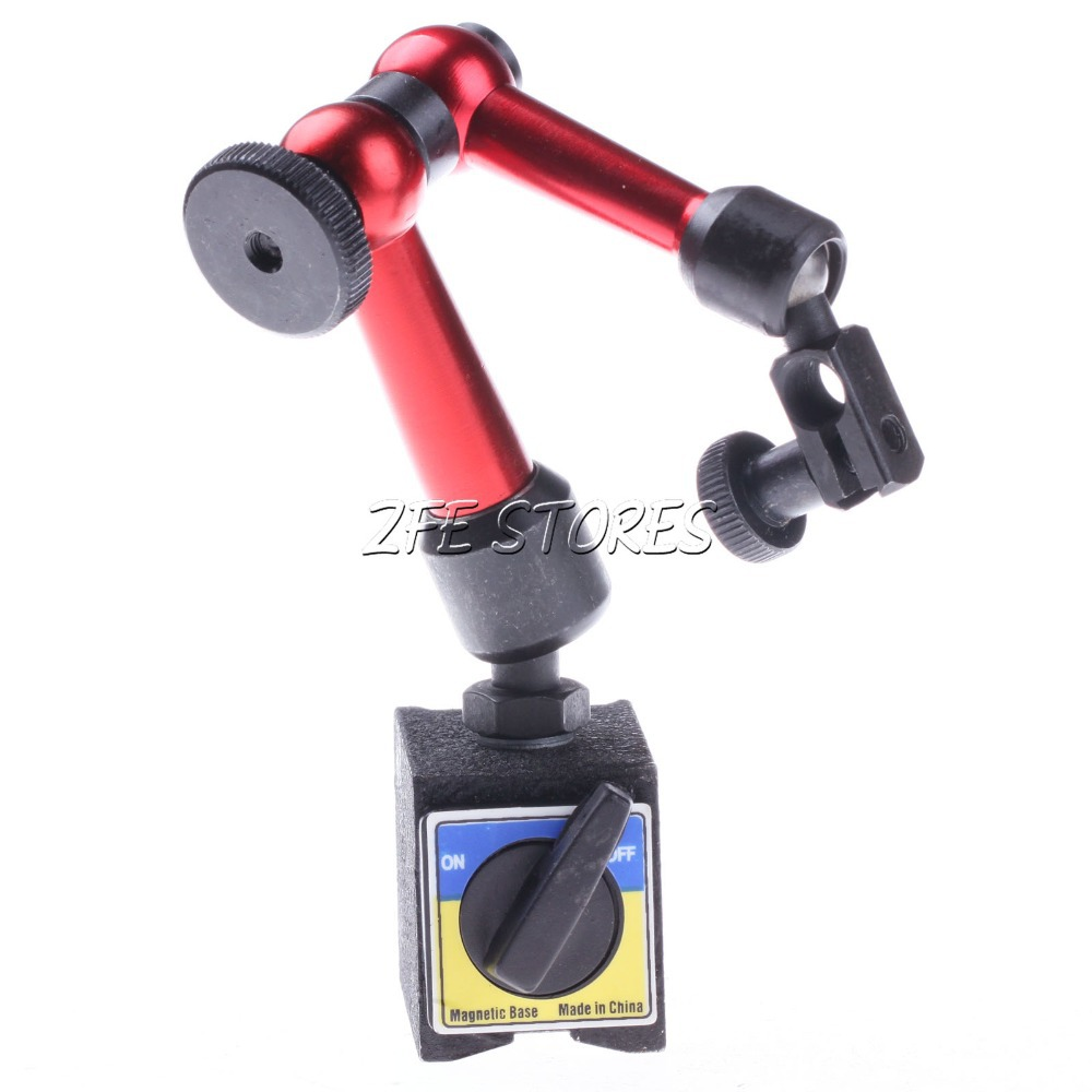Three Axis Electronic Test Indicators : Mini magnetic base holder stand for digital level dial