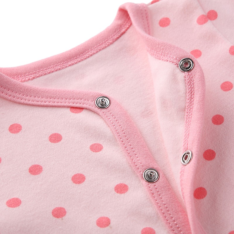 Mother Nest Newly 2016 Long Sleeve Baby Clothing Baby Boy Girl Wear Pink Polka Dot Newborn Baby Overall Clothes Baby Rompers (13)