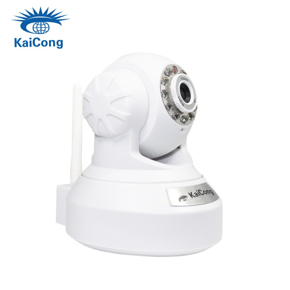 Free Shipping Wifi ip camera Ipcam Plug Play Ipcamera Free Iphone Android App KaiCong 1602wen P2P