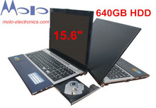 15.6inch gaming laptop notebook computer4GB 500GB DVD-ROM RW Intel Celeron 1037U dual core 1.86Ghz WIFI camera (China (Mainland))