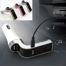 Car Kit Golden MMC FM Transmitter Auto MP3 Player LCD SD For Phones Modulator Handsfree Bluetooth USB New Hot(China (Mainland))