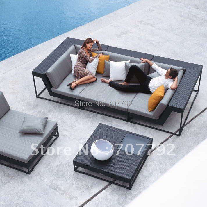 Hot sale SG-12016A Urban new style garden sofa, outdoor sofa,rattan sofa sets.(China (Mainland))