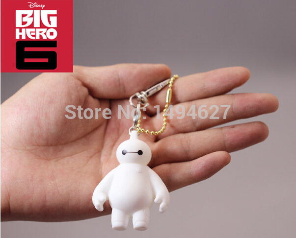 Small bulk of foreign trade Beast corps White fat doll doll robot handbags accessories big heroes(China (Mainland))