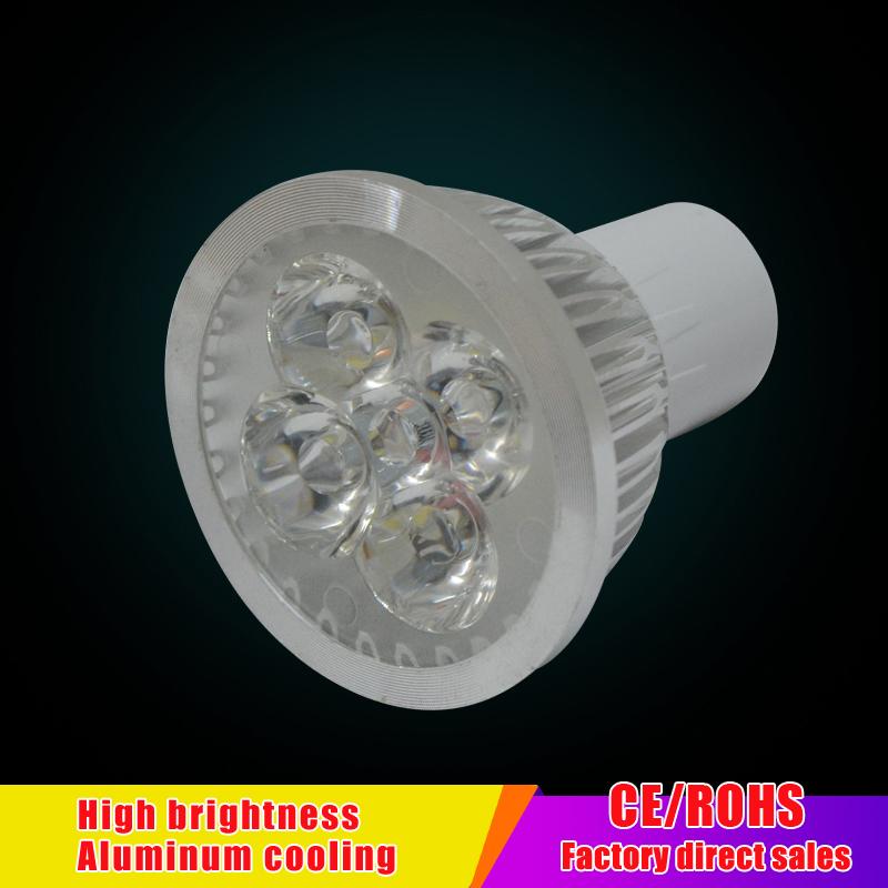 Hot Lampada LED Lamp 220V 2835 Ampoule LED Spotlight 4w Bombillas LED Bulb GU10 Lamparas Spot light Candle Luz Spot luz(China (Mainland))