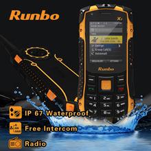 100% original Russian keyboard Runbo x1 Force ip68 phone rugged Waterproof shockproof Dustproof phone 1750mAH 2.0MP ZUG S H1(China (Mainland))