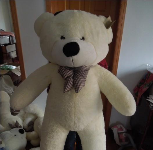 Free shipping 1.4m teddy bear plush toy to choose teddy bear soft stuffed gift doll(China (Mainland))