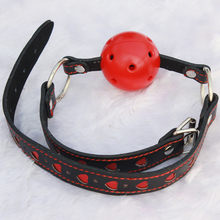 Buy BDSM Mouth Plug Ball Gag Bondage Belt Slave Adult Games Couples,Fetish Erotic Porno Sex Products Toys Women Men for $9.99 in AliExpress store