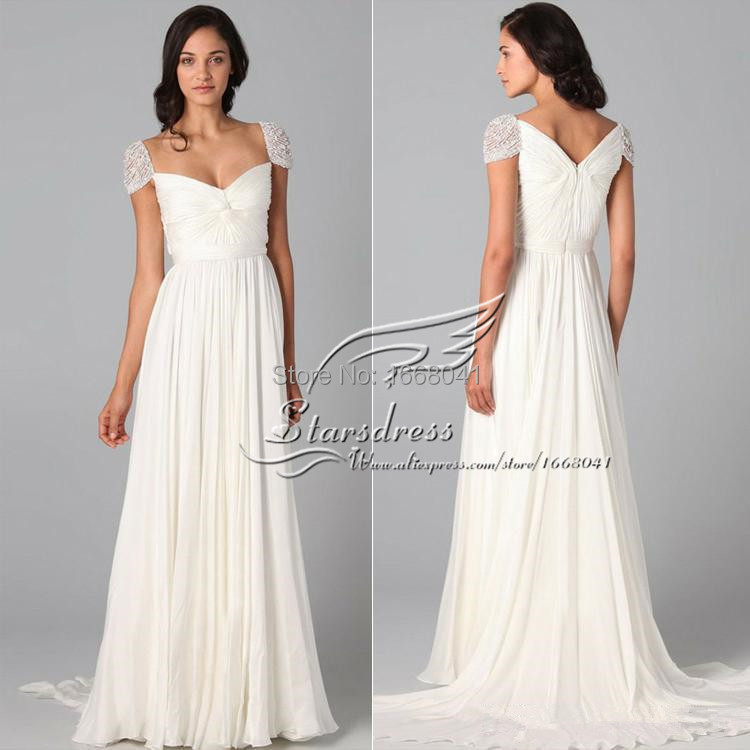 2015 cheap charming modern a line white ivory sweetheart for Cheap modern wedding dresses