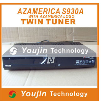 Az America S930A Satellite Receiver N3 Nagra3 Twin Tuner support wifi Decorder with SKS hispasat atlantic Bird Built-in Dongle