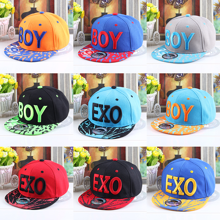 Child Baseball Cap Summer Male Sun Polo Hat Female Male  Flat Along  Baseball Hip Hop Cap Snapback Caps Fitted Hats For Men(China (Mainland))