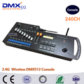 DHL Free shipping 240 Channels 2 4G Wireless DMX controller console wifi dmx wireless controlled dmx