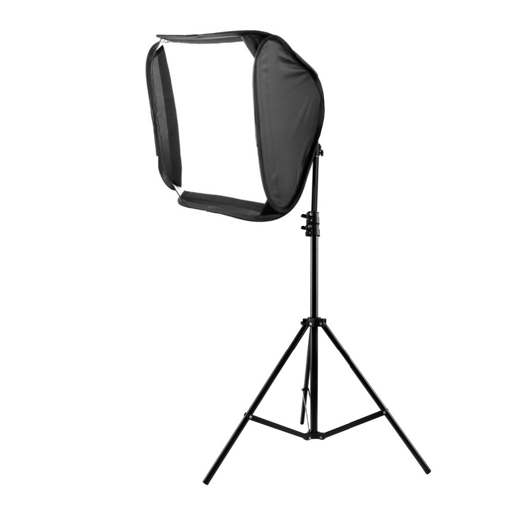 40CM Photography Continuous Soft box 2M Light Stands Photographic equipment assembly(China (Mainland))