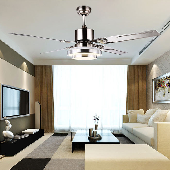 Fashion ceiling fan lights retro style fan lamps bedroom dinning room living room fan Overhead lighting living room
