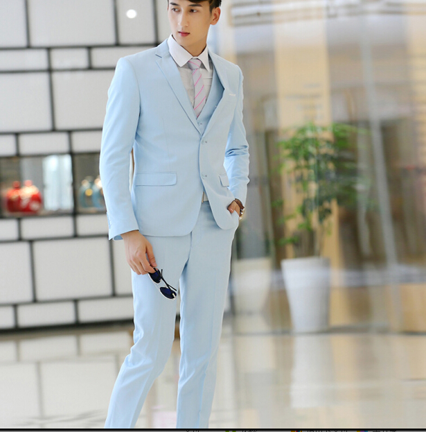 Senior custom tailored suits gentleman personality suits are business suit of office daily work(China (Mainland))