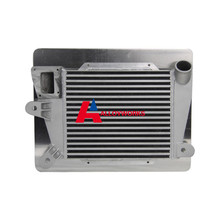 NEW OEM FOR MAZDA 3 6 MPS 07 13 aluminum turbo intercooler super capacity GREAT Aluminium