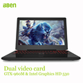 Bben AK 15 gaming laptop computer i7 6700HQ cpu ddr4 8GB 16GB DDR4 RAM 128GB 256GB