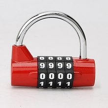 A96 Better 4 Digit Combination Practical Travel Bag Luggage Suitcase Security Lock Padlock(China (Mainland))