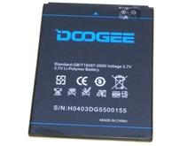 100 Original Doogee DG550 Battery 2600mAh Rechargeable battery for Doogee DG550 Smartphone battery