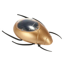 Birthday Gift Cute Solar Powered Scarab Insect Magic Mini Solar Toys for Kids Children Education Toy Hot Sale Popular(China (Mainland))