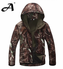 Army Camouflage Coat Military Jacket Waterproof Windbreaker Raincoat Hunting Clothes Army Jacket Men Outdoor Jackets And Coats(China (Mainland))