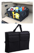 Andy New 2014 car accessories car trunk organizer car storage receive bag car boot storage bag auto(China (Mainland))