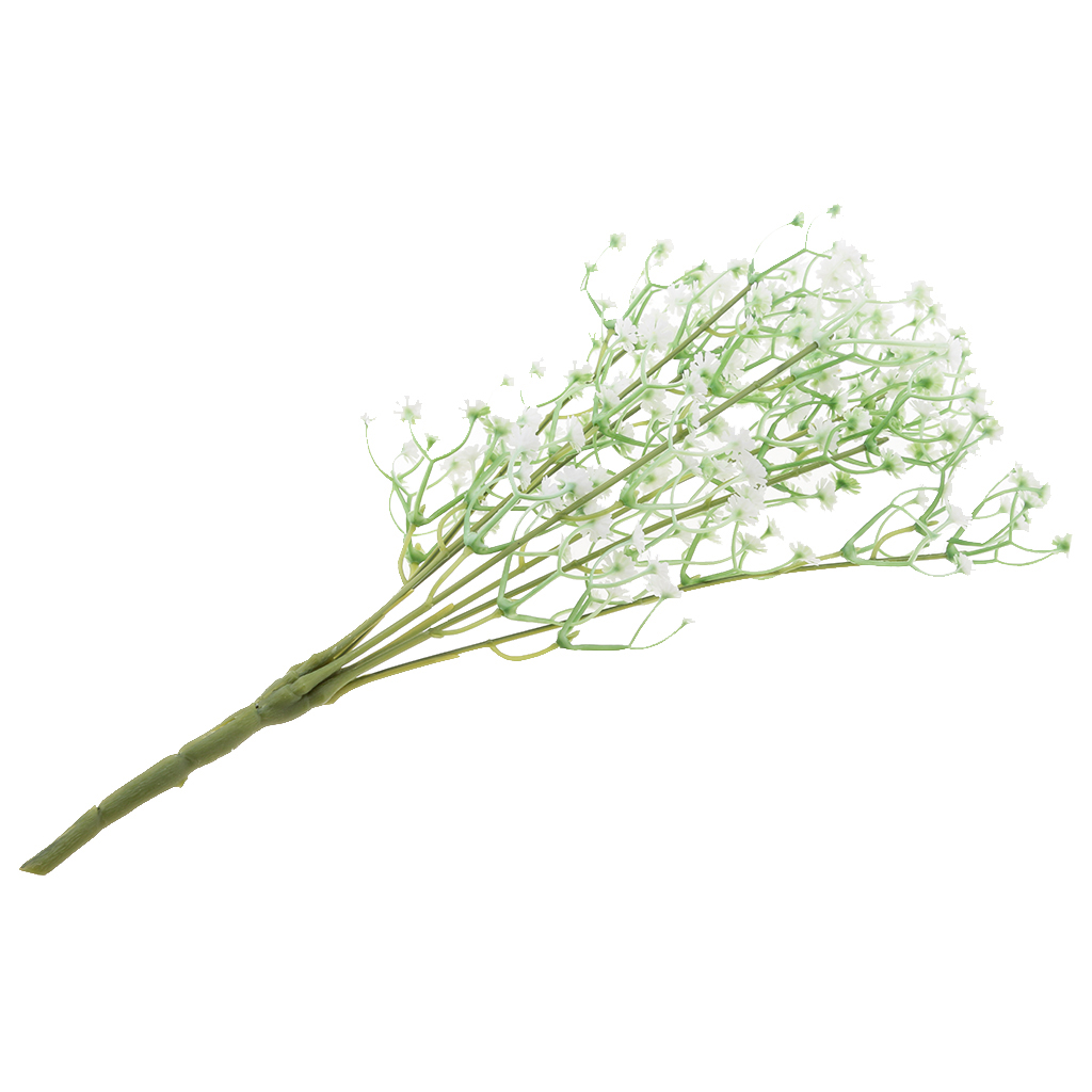 Artificial Baby Breath/Gypsophila Wedding Decoration White Colour Silk Artificial Flowers