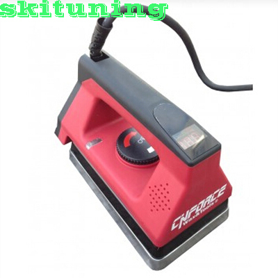 Full size wax iron with h Digital Temperature Guage precise consistent temperature control With a iron pad Ski Tuning 230V(China (Mainland))