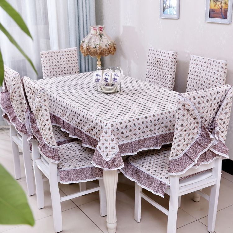 Modern Table Cloth Plaid Lace Tablecloth Lace Chair Cover Napkin Home Textile Simple Wedding Table Decoration(China (Mainland))